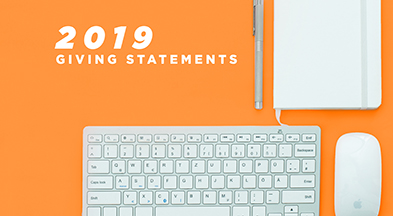 2019 Giving Statements